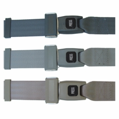 Lap Seat Belt, Push Button