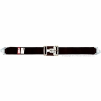 Latch & Link Buckle Lap Belt with Snap-Ends