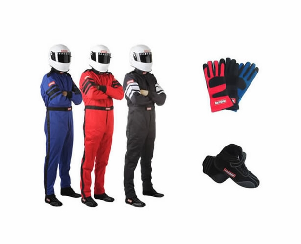 Racequip 1-Piece SFI-5 Race Suit Package