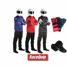 Racequip 2-Piece SFI-5 Race Suit Package