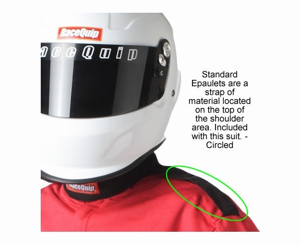 Racequip 2-Piece SFI-5 Race Suit Package - alternative view 3