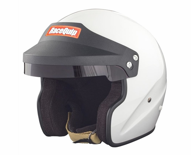 Racequip OF15 Open Face Helmet Snell SA-2015 Rated