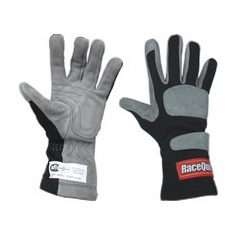 Racequip SFI-1 Auto Racing Gloves 1-Layer SFI 3.3/1