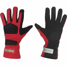 Racequip SFI-5 Auto Racing Gloves 2-Layer RQP355