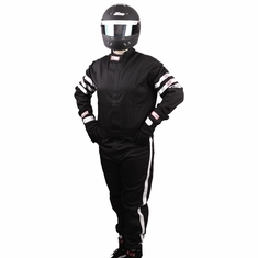 RJS 1 Piece (Jumpsuit style) Driving Suit SFI-1 FR Cotton