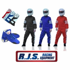 RJS 2-Piece SFI-1 Racing Suit Package