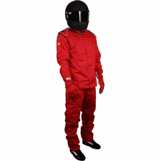 RJS ELITE Ultra Light 2-Piece SFI-20 Driving Firesuit Suit Nomex SFI 3.2A/20