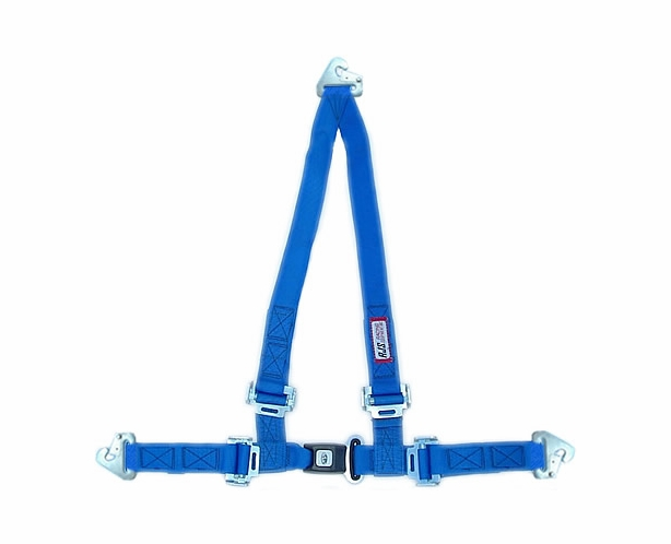 Off Road Seat Belt Roll Bar Mount Harness with Snap-In Ends