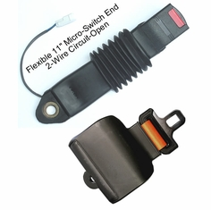 """Safety Micro-Switch Forklift Retractable Seat Belts """"Circuit Open"""""""