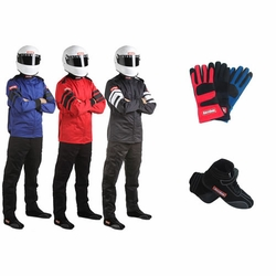 SFI-5 Two-Piece Auto Racing Suit Kits