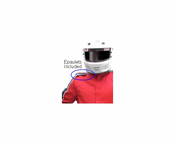 Sportsman Deluxe (SDX) - 1 Piece Racing Suit SFI 3.2A/1 by Pyrotect - alternative view 4