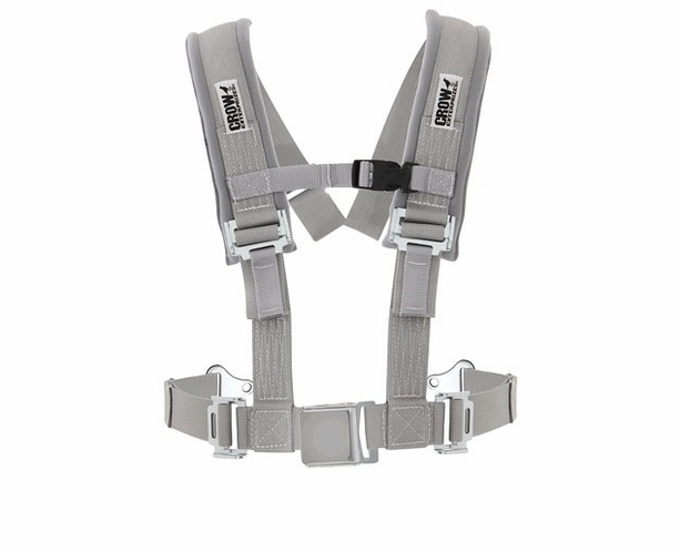 UTV Seat Belt by Crow H-Type Harness with Automotive Buckle - alternative view 1