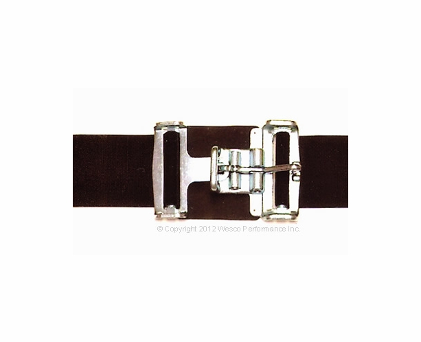 """Wrap Around Ends Lap Belts - Choose 3"""" or 2"""" Width - alternative view 1"""