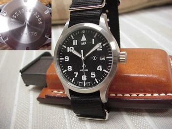 A. SCHILD 2063 Swiss Movement Military watch Big numbers