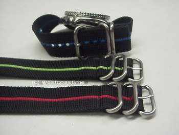 all new colors in 22 mm stripe maratac