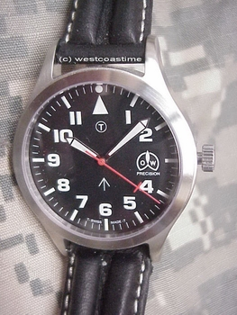 British Pilot Military Style watch GENUINE ETA-2801 Now with SAPPHIRE