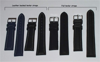 KEVLAR-style WATCH BANDS/STRAPS