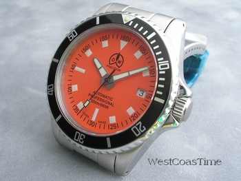 New Orange dial 3077 diver from O & W - WOW!