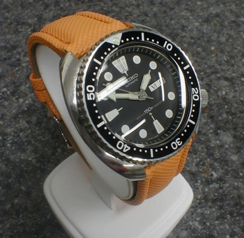 New ORANGE kevlar/nylon BAND