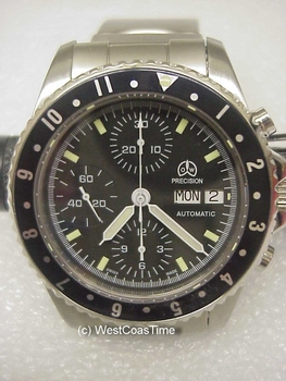 O & W 7750 Chronograph T-4 fine-tuned - 1-left