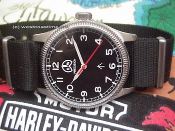 Ollech & Wajs New WWII fleiger style watch with eta-2801 hacking