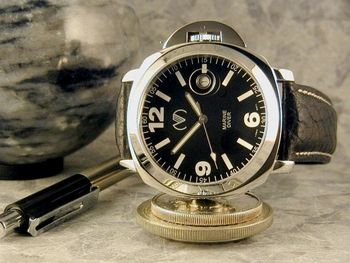 SOLD OUT ------PANERAI look - bottom line price Sapphire -Limited