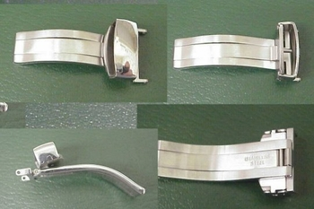 STAINLESS CLASPS of milled stainless bar stock - outstanding