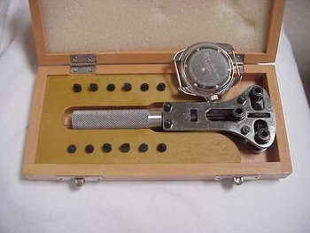 Watch Case Opener 3-lug w/handle
