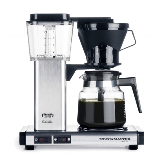 European Glass Coffee Maker : Technivorm Moccamaster Coffee Brewer - Free Shipping