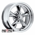 "15x6"" 930-C Retro Wheel Designs Chrome wheels rims 5x4.50"" Ford lug-pattern 3.50"" backspace"