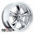 "15x6"" 930-P Retro Wheel Designs Polished wheels rims 5x4.75"" Chevy lug-pattern 3.50"" backspace"