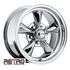 "15x7"" 930-C Retro Wheel Designs Chrome wheels rims 5x4.50"" Ford lug-pattern 4.00"" backspace"