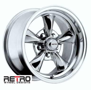 "Ford Ranger Lug Pattern >> 15x8"" 930-C Retro Wheel Designs Chrome wheels rims 5x4.50"