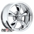 "17x8"" 930-C Retro Wheel Designs Chrome wheels rims 5x4.75"" Chevy lug-pattern 4.50"" backspace"
