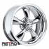 "18x8"" 930-C Retro Wheel Designs Chrome wheels rims 5x4.75"" Chevy lug-pattern 4.50"" backspace"