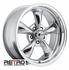 "18x8"" 930-P Retro Wheel Designs Polished Aluminum wheels rims 5x4.75"" Chevy lug-pattern 4.50"" backspace"