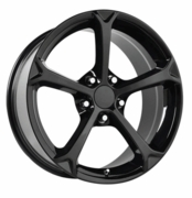 2010 Corvette Grand Sport Reproduction Black Wheels