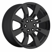 "20x8.5"" Cadillac Escalade 2009-2010 Style Gloss Black OE 5409 Replica Wheel Rim"
