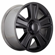 "20x8.5"" Chevy Silverado 1500 2009-2010 Style OE 5416 Replica Gloss Black Wheel Rim"