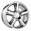 "20x8.5"" Chevy Tahoe LTZ 2007 Style OE 5308 Replica Chrome Wheel Rim"
