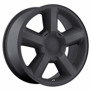 "20x8.5"" Chevy Tahoe LTZ 2007 Style OE 5308 Replica Matte Black Wheel Rim"