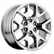 "20x9"" GMC Sierra 2014 Style OE 5656 Replica Chrome Wheel Rim"