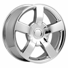 "22x10"" Chevy Silverado SS 2003 Style OE 5243 Replica Chrome Wheel Rim"