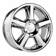 "22x10"" Chevy Tahoe LTZ 2007 Style OE 5308 Replica Chrome Wheel Rim"