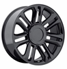 "22x9"" Cadillac Escalade Platinum 2010 Style Gloss Black OE 5358 Replica Wheel Rim"