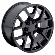 "22x9"" GMC Sierra 2014 Style OE 5656 Replica Gloss Black Wheel Rim"
