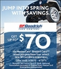 BFGoodrich Jump into Spring with Savings Rebates