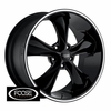 Foose F105 Legend One-Piece Black Classic Wheels Rims