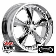 Foose F117 Nitrous One-Piece Chrome Classic Wheels Rims