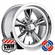 US Mags U104 Standard Chrome Aluminum Wheels Rims